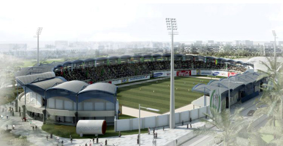 Great Man Made River Stadium (Tripoli, Libia) 2